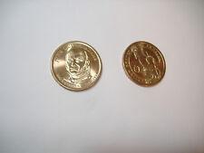 US Münze 1 $ Dollar Geld Money Präsident J. Q ADAMS PRESIDENT gold Deko rund USA