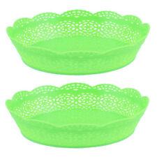 Fruit Plastic Serving Plates