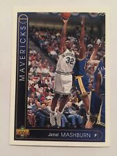 1993 Upper Deck NBA Basketball Card - Dallas Mavericks #352 Jamal Mashburn