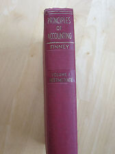 Principles of Accounting Volume 1, Intermediate, H. A. Finney 1935 Hardback