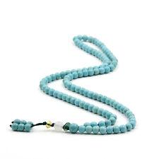 6mm Tibet Buddhist 108 Howlite Turquoise Bracelet Prayer Beads Mala Necklace Hot