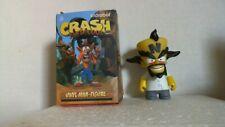 "L) Kidrobot Crash Bandicoot 3"" Vinyl Mini Figure Dr. Neo Cortex 3/24 New No Box"