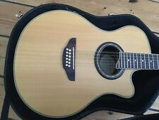 Yamaha APX 8-12A 12 String Electro Acoustic Guitar + Hard Case