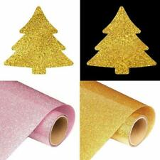 Glitter Holographic Iron-on Heat Transfer Vinyl Cutting Press Film For Clothes