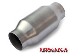 Yonaka 25 Catalytic Cat Converter Ultra High Flow Metal Core Race Universal