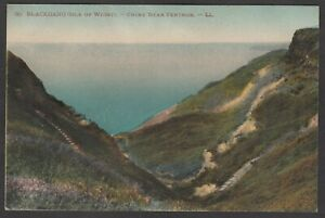 Postcard Isle of Wight the Blackgang Chine near Ventnor by Levy LL 30 colour