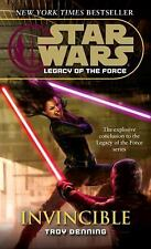 Star Wars: Legacy of the Force: Invincible: By Denning, Troy