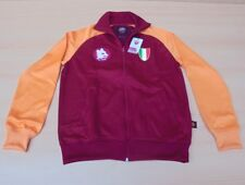 Copa AS Roma 1983 Scudetto Jacke Retro Track Training Fußball rot / orange Gr. L