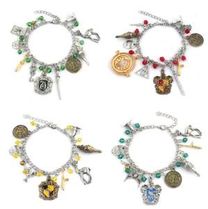 Harry Potter Hogwarts Bracelet Charm Pendants Jewellery Gift