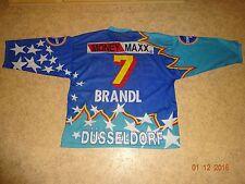 """Düsseldorfer EG starter Eishockey Trikot 96/97 """"EPSON"""" + Nr.7 Brandl Gr.XL TOP"""