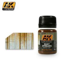 AK INTERACTIVE AK13 Rust Streaks Enamel Paint 35ml Bottle Hobby Model Kit