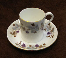 Vintage Royal Albert Lorraine Demitasse Cup and Saucer