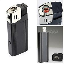 HD 1080P VIDEO SPY CAMERA DVR IN METAL CIGARETTE LIGHTER & LED FLASHLIGHT JMHG