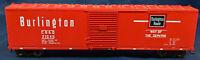 PROTO 2000 BURLINGTON CB&Q 21045 EVERYWHERE WEST RED BOXCAR HO SCALE