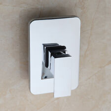 Bathroom Control Valve Mixer Tap One Handle Wall Mount Chrome Faucet Accessories
