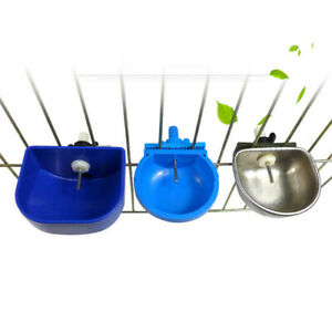 Rabbit Automatic Drinker Water Feeder Fix Bowl Stainless-Steel Equipmen/Useful