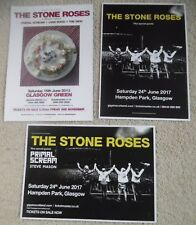 The Stone Roses - poster JOB LOT bundle live music show concert gig tour posters