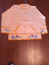 NWT STORYBOOK KNITS Sweater, Size Medium, Color Light Orange