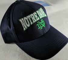 LZ Adidas Youth One Size OSFA Notre Dame Fighting Irish Baseball Hat Cap NEW D65