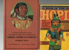 Native American Indian 4 PB Lot Sacred Buffalo Hopi Algonquin North American