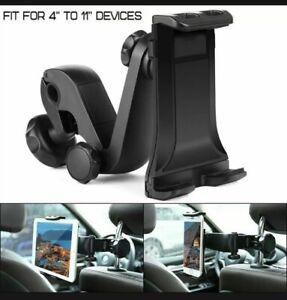 Universal Car Back Seat Headrest Mount Tablet Holder for iPad iPhone Samsung GPS