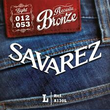 Savarez A130L Acoustic Bronze, light Gitarrensaiten 012 bis 053 Westerngitarre