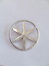 Spilla da giacca con il SOLE DELLE ALPI in Argento 925 - Pins -