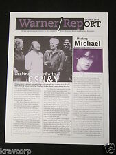 CSNY/ERIC CLAPTON—1999 WARNER RECORDS NEWSLETTER