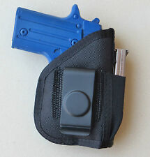 Inside Pants IWB Gun Holster Mag Pouch for TAURUS TCP with Laser PT 738