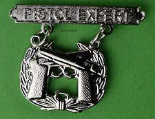 Pistol Expert Marine Corps Weapons Qualification Badge USMC