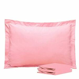 Standard Pillow Shams, Set of 2, 100% Brushed Microfiber, Soft and Cozy,