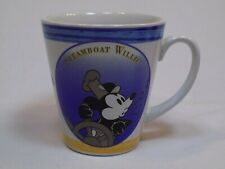 New listing Mickey Mouse Disney Steamboat Willie Stoneware Coffee Mug Through Years Series