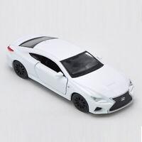 Lexus RC F 1:36 Die Cast Modellauto Auto Spielzeug Model Sammlung Pull Back Weiß
