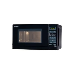 Sharp R272KM 20L Digital Microwave Oven - Black
