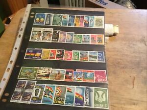 Ghana Mixed Stamps Lot