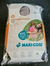 Maxi-Cosi Tobi Car Seat Summer Cover, Cool Grey #837