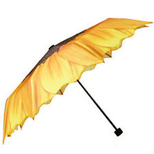 Unique style rain umbrella lady women's umbrella sunflower wavy edge parasol