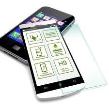 2x Premium 0,3 mm H9 Echt Hartglas Schock Folie für Huawei Honor 6X Schutz