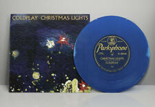 """COLDPLAY CHRISTMAS LIGHTS 7"""" (2020) LIMITED BLUE VINYL (PRE-ORDER DUE 4/12/20)"""