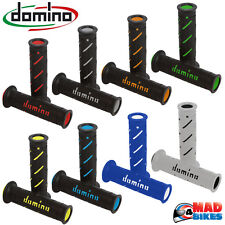 Domino XM2 Super Soft Dual Compound Motorcycle HandleBar Grips All Colours