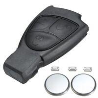 For Mercedes Benz E S C Class CLK 3 Button Remote Key Fob Case Shell +