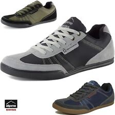 Alpine Swiss Marco Mens Casual Shoes Sporty Lace up Jean & Sneaker Fused Hybrid