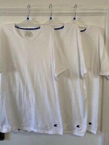3 mens champion t shirts Size L New
