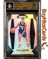 2017-18 Kyle Kuzma Panini Prizm Silver Prizms Refractor #283 BGS 10 Pristine