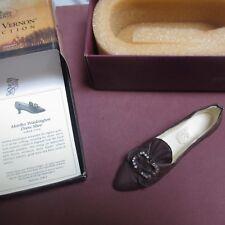 Just The Right Shoe Martha Washington Dress Shoe Jtrs 25412 Mt Vernon Collection