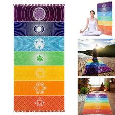 Hippie Tapisserie Tapis De Plage Serviette Yoga Tenture Murale Mat Jeté Lit