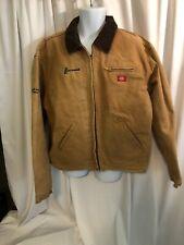 Vintage Dickies Blanket Lined Chore Jacket XXL Duck Brown USA Work