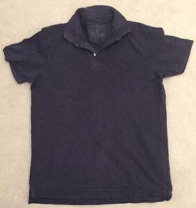Dark Blue Men's NEXT Polo Shirt - Large