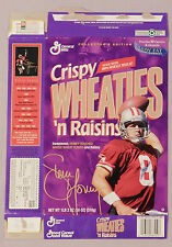 STEVE YOUNG 49ERS WHEATIES CEREAL BOX