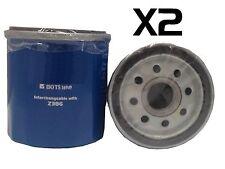 2X Oil Filter Suits Z386 HOLDEN Apollo TOYOTA Camry Celica Corolla Echo DAIHATSU